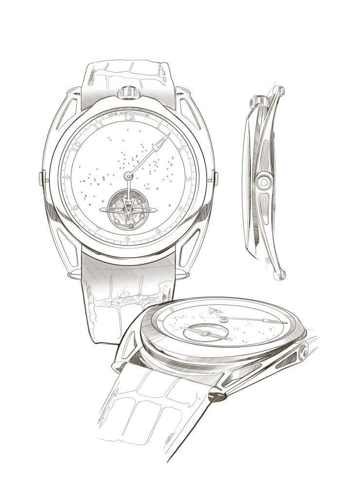 De Bethune charity, design artwork by Julien Bonzom