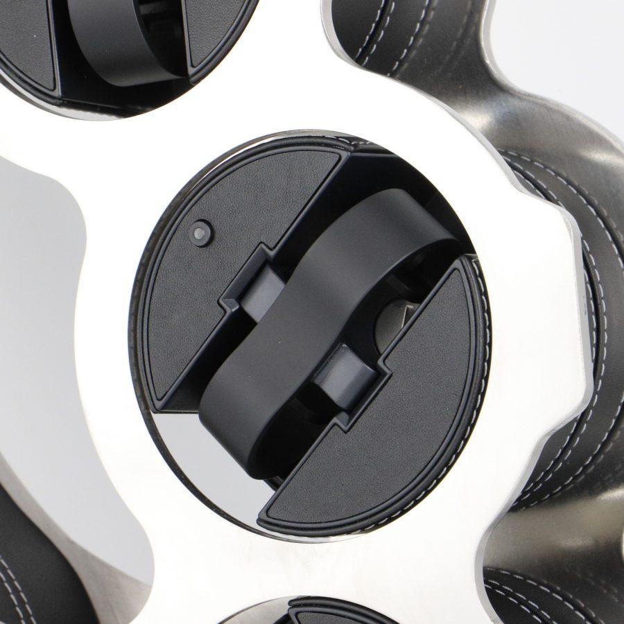 K.o Swiss made sculptural watch winder, design by Julien Bonzom