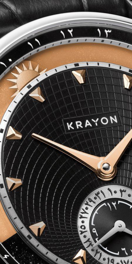 Perpétuel Gallery, Krayon anywhere, art direction, watches design - by Julien Bonzom
