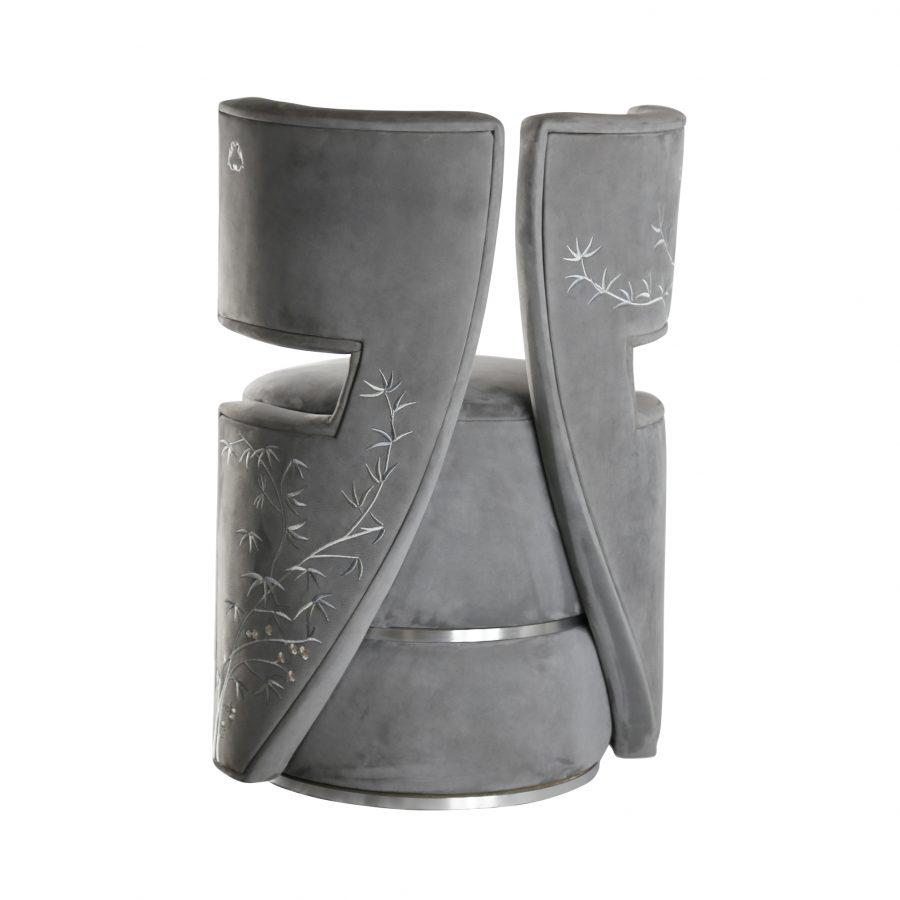 Sakura dressing chair, product design by Julien Bonzom
