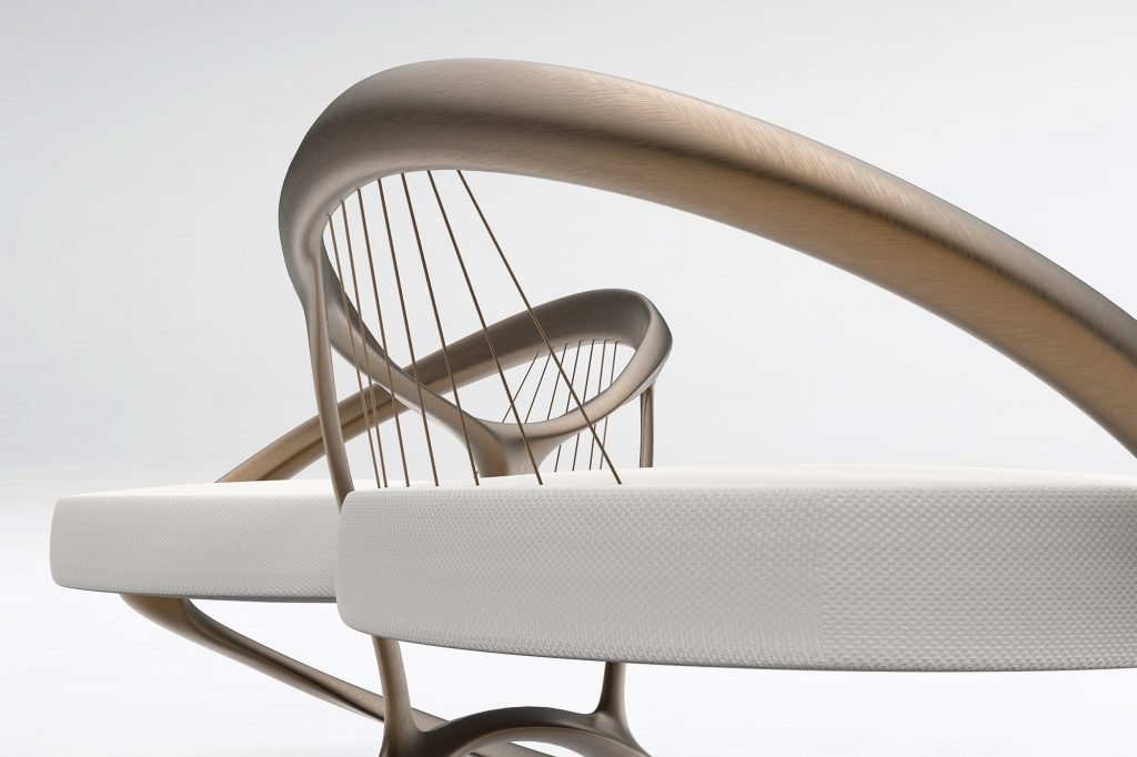product design constructed like a bridge