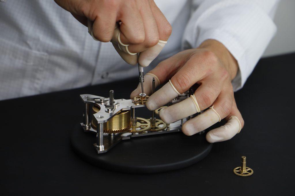 Hermle mechanical clock