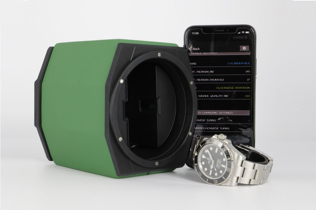 Origins - watch winder controlled with an app