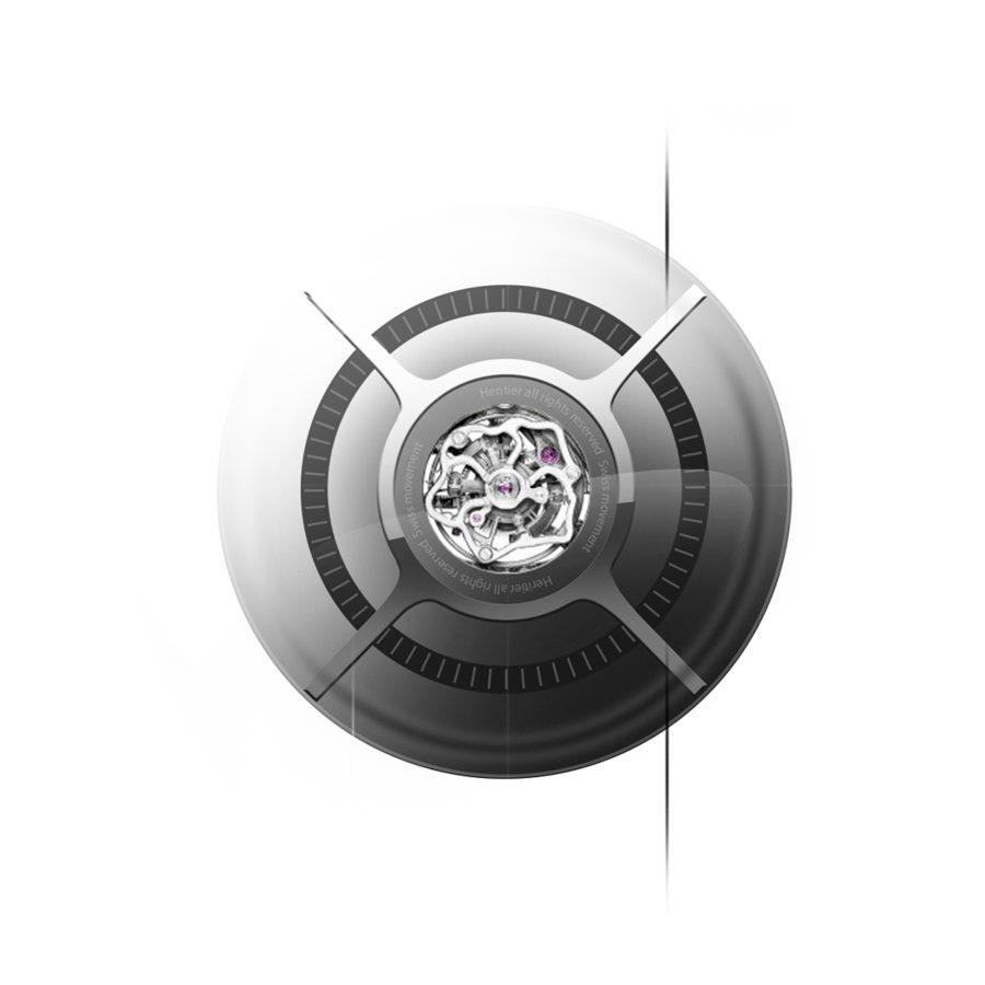 Tourbillon watch ring design by Julien Bonzom