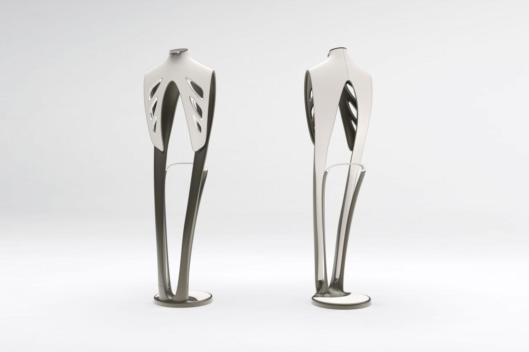 Allure valet stand, design by Julien Bonzom